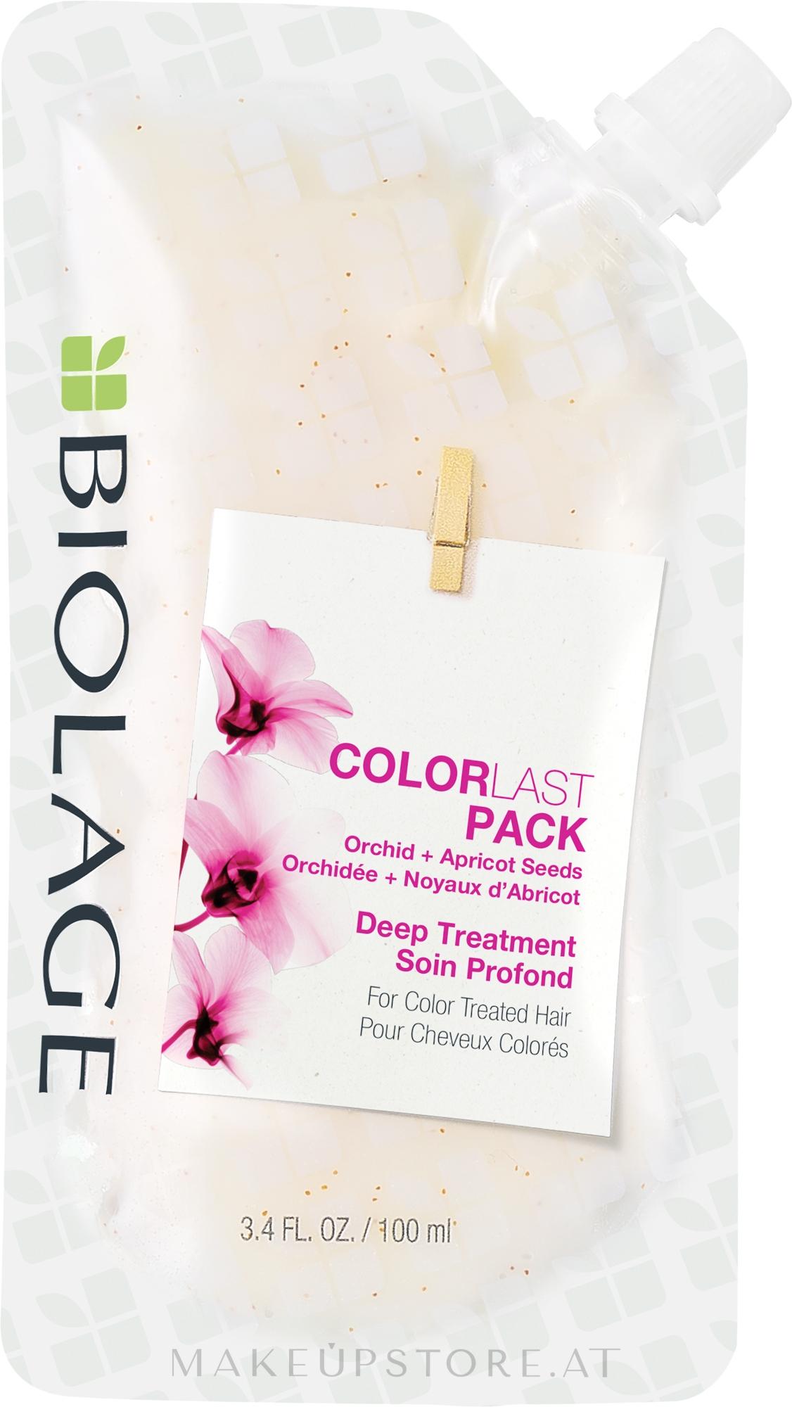Maske für coloriertes Haar - Biolage Colorlast Mask Doy-Pack — Bild 100 ml