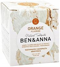 Düfte, Parfümerie und Kosmetik Natürliche Zahnpasta mit Orange und Fluorid - Ben & Anna Orange Fluoride Toothpaste