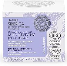 Düfte, Parfümerie und Kosmetik Regenerierende Gel-Maske für das Gesicht mit Peeling-Effekt - Natura Siberica Organic Certified Mild Reviving Jelly-Scrub