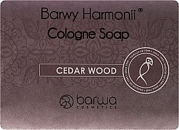 Düfte, Parfümerie und Kosmetik Seife mit Zedernholzextrakt - Barwa Harmony Cedar Wood Soap