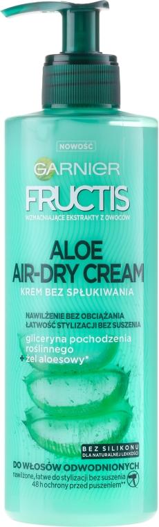 Feuchtigkeitsspendende Haarcreme ohne Ausspülen mit Aloe Vera - Garnier Fructis Aloe Air-Dry Cream
