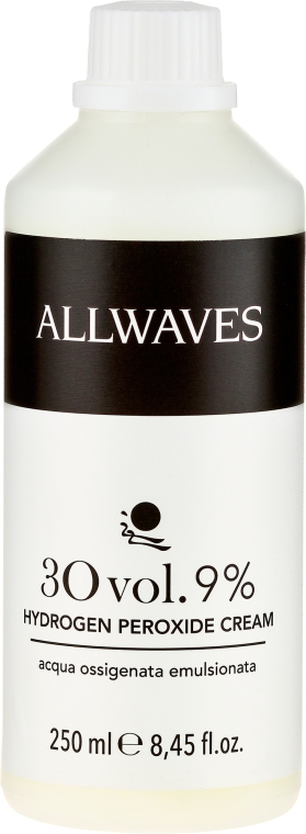 Entwicklerlotion 9% - Allwaves Cream Hydrogen Peroxide 9%