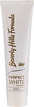 Düfte, Parfümerie und Kosmetik Zahncreme mit aufhellendem Effekt - Beverly Hills Formula Perfect White Gold