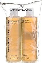 Düfte, Parfümerie und Kosmetik Gesichtspflegeset - Germaine de Capuccini (Gesichtslotion 300ml + Gesichtsöl 300ml)