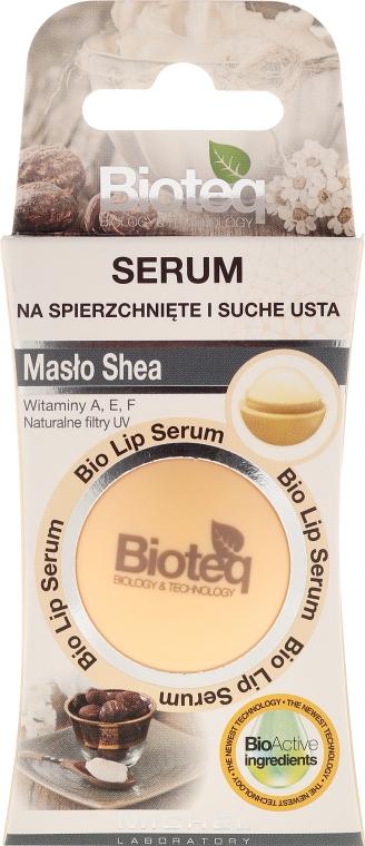 Lippenbalsam mit Karitébaum-Butter - Bioteq Bio Lip Serum Shea Butter
