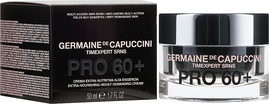Pflegende Gesichtscreme Pro 60+ - Germaine de Capuccini Timexpert SRNS PRO60+Extra Nourishing Highly Demanding Cream