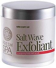 Energetisierendes Salz-Körperpeeling - Natura Siberica Fresh Spa Kam-Chat-Ka Salt Wave Exfoliant — Bild N2