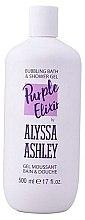 """Düfte, Parfümerie und Kosmetik Duschgel """"Jasmin & Vanille"""" - Alyssa Ashley Purple Elixir Bath And Shower Gel"""