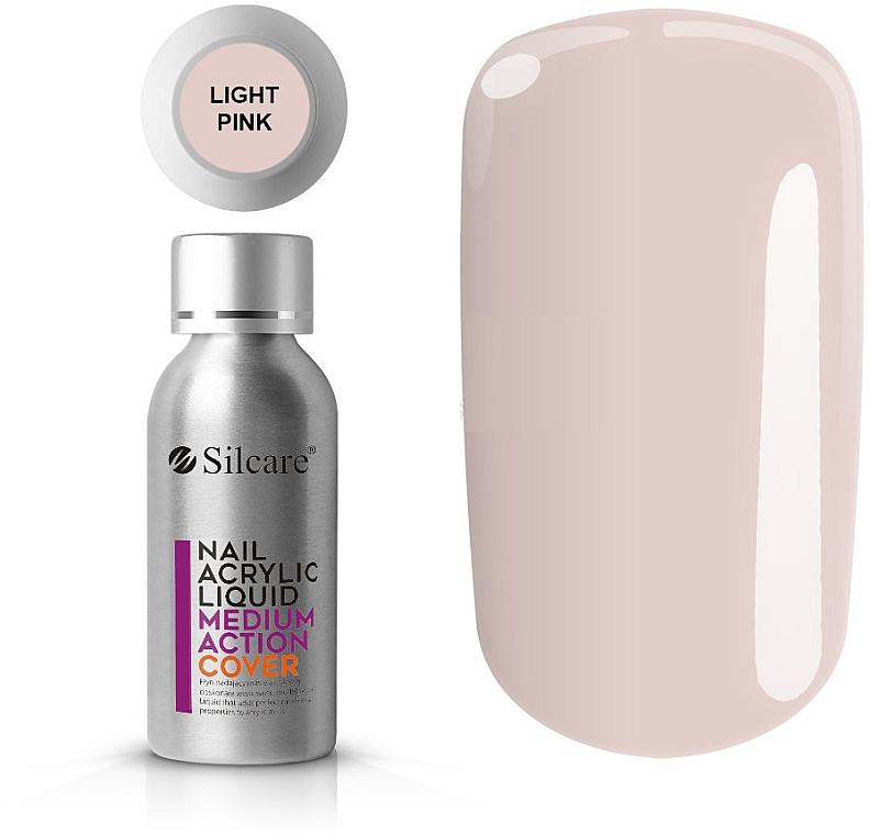 Acryl-Flüssigkeit - Silcare Nail Acrylic Liquid Medium Action Cover