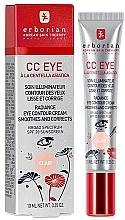 Düfte, Parfümerie und Kosmetik CC Creme für die Augenpartie - Erborian Finish CC Eye Cream