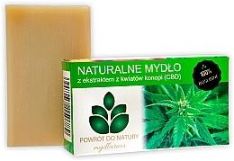 Düfte, Parfümerie und Kosmetik Naturseife mit Hanfblumenextrakt - Powrot Do Natury