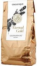 Düfte, Parfümerie und Kosmetik Badesalz - Organique Eternal Gold Golden Bath Salt