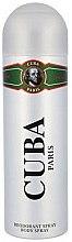 Düfte, Parfümerie und Kosmetik Deodorant - Cuba Green