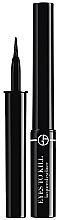 Düfte, Parfümerie und Kosmetik Langanhaltender Eyeliner - Giorgio Armani Eyes To Kill Lacquered Liner