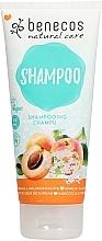 Düfte, Parfümerie und Kosmetik Shampoo mit Aprikose und Holundeblüte - Benecos Natural Care Apricot & Elderflower Shampoo