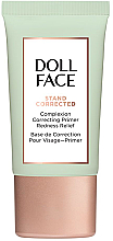 Düfte, Parfümerie und Kosmetik Korrigierender Gesichtsprimer gegen Hautrötungen - Doll Face Stand Corrected Complexion Equalizer Primer