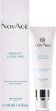 Düfte, Parfümerie und Kosmetik Aufhellende Nachtcreme - Oriflame NovAge Bright Sublime