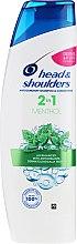 """Düfte, Parfümerie und Kosmetik 2in1Anti-Schuppen Shampoo und Conditioner """"Menthol Fresh"""" - Head & Shoulders 2in1 Menthol"""