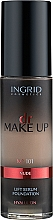 Düfte, Parfümerie und Kosmetik Straffende Foundation mit Hyaluronsäure - Ingrid Cosmetics Lift Serum Foundation SPF8