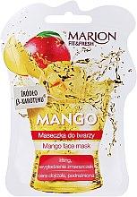 Düfte, Parfümerie und Kosmetik Liftingmaske für das Gesicht mit Mango - Marion Fit & Fresh Mango Face Mask