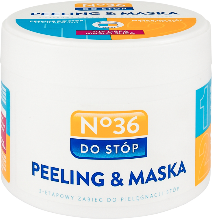 Zwei-Phasen-Fußpeelingmaske - Pharma CF No.36 Peeling & Mask