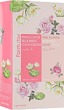 Düfte, Parfümerie und Kosmetik Handpflegeset - FarmStay Pink Flower Blooming Hand Cream Set (Handcreme 2x100ml)