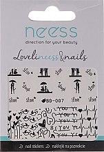 Düfte, Parfümerie und Kosmetik Dekorative Nagelsticker 3684 BD-007 - Neess
