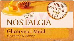 Düfte, Parfümerie und Kosmetik Seife mit Glycerin und Honig - Luksja Nostalgia Glycerin & Honey Soap