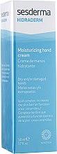 Feuchtigkeitsspendende Handcreme für trockene und geschädigte Haut - SesDerma Laboratories Hidraderm Hand Cream — Bild N2