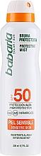 Düfte, Parfümerie und Kosmetik Sonnenschutzspray für die empfindliche Körperhaut SPF 50 - Babaria Protective Mist For Sensitive Skin Spf50
