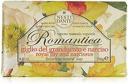 Düfte, Parfümerie und Kosmetik Naturseife Royal Lily & Narcissus - Nesti Dante Romantica Tuscan Lily&Narcissus Soap