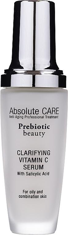 Gesichtsreinigungsserum mit Vitamin C - Absolute Care Prebiotic Beauty Clarifying Vitamin C Serum