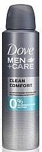 Düfte, Parfümerie und Kosmetik Deospay - Dove Men+Care Clean Comfort