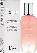 Düfte, Parfümerie und Kosmetik Gesichtslotion zur Entfernung von abgestorbenen Hautzellen - Christian Dior Capture Youth New Skin Effect Enzyme Solution