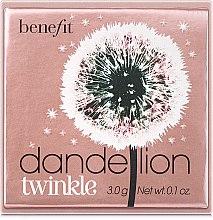 Düfte, Parfümerie und Kosmetik Puder-Highlighter - Benefit Dandelion Twinkle