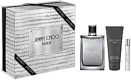Düfte, Parfümerie und Kosmetik Jimmy Choo Man - Duftset (Eau de Toilette 100ml + Eau de Toilette 7.5m + After Save Balsam 100ml)