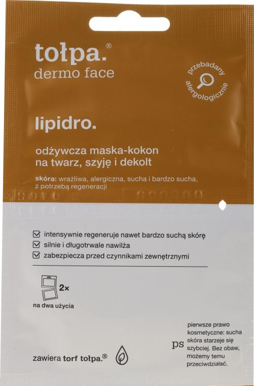 Pflegende Gesichtsmaske - Tolpa Dermo Face Lipidro Face Mask — Bild N1