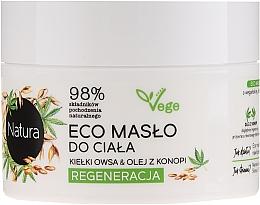 Düfte, Parfümerie und Kosmetik Regenerierende Körperbutter mit Weizen und Hanföl - Lirene Natura Eco Oil