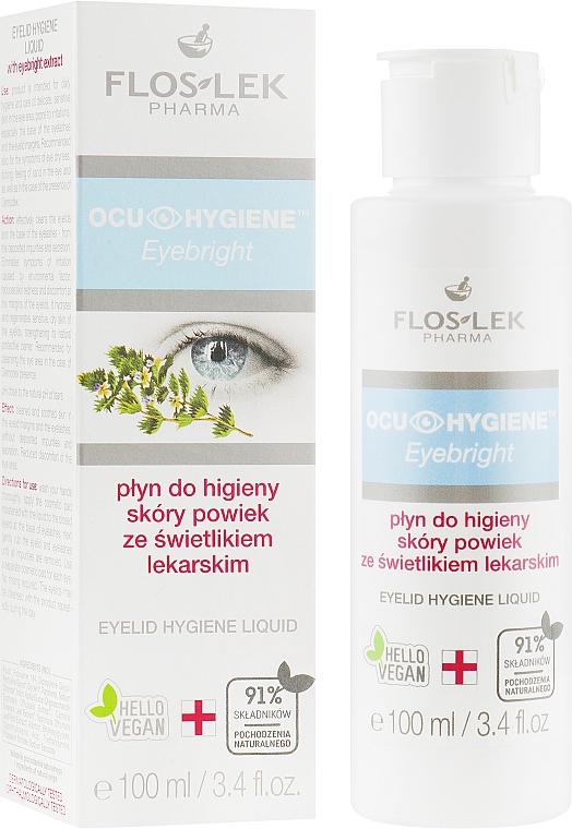 Hygienisches Augenfluid mit Kräuterextrakt - Floslek Eyebright Eyelid Hygiene Liquid