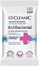 Düfte, Parfümerie und Kosmetik Erfrischende und antibakterielle Feuchttücher 24 St. - Cleanic Antibacterial Wipes