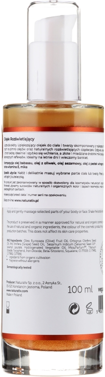 Revitalisierendes Körperöl - Naturativ Revitalizing Body Oil — Bild N2