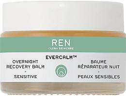 Düfte, Parfümerie und Kosmetik Regenerierender Nachtbalsam für empfindliche Gesichtshaut - Ren Evercalm