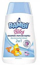 Düfte, Parfümerie und Kosmetik 2in1 Shampoo und Duschgel für Babys und Kinder - Pollena Savona Bambi 2in1 Shampoo & Shower Gel