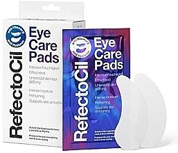 Düfte, Parfümerie und Kosmetik Intensiv feuchtigkeitsspendende, erfrischende und glättende Augenpatches mit Vitamin E und Hyaluron - RefectoCil Eye Care Pads