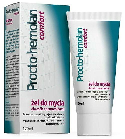 Reinigungsgel für die Intimhygiene gegen Hämorrhoiden - Aflofarm Procto-Hemolan Comfort Cleaning Gel