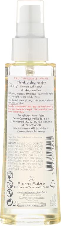 Körperöl - Avene Soin Corporels Huile de Soin Spray Gevoelige Huid — Bild N2