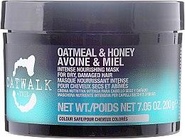 Düfte, Parfümerie und Kosmetik Regenerierende Haarmaske - Tigi Catwalk Oatmeal & Honey Nourishing Mask