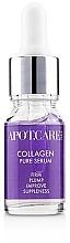 Düfte, Parfümerie und Kosmetik Glättendes Gesichtsserum mit Kollagen - APOT.CARE Pure Seurum Collagen