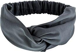 Düfte, Parfümerie und Kosmetik Haarband Knit Twist grau - MakeUp Hair Accessories