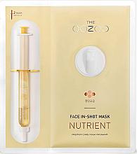 Düfte, Parfümerie und Kosmetik Intensiv pflegende Ampullen-Tuchmaske für das Gesicht - The Oozoo Face In-Shot Mask Nutrient